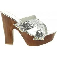 Zapatos Mujer Sandalias Top Way B736910-B7200 Plateado