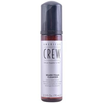 Belleza Hombre Cuidado Aftershave American Crew Crew Beard Foam Cleanser  70 ml