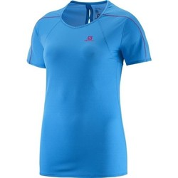 textil Mujer camisetas manga corta Salomon Minim Evac Tee W 371146 azul