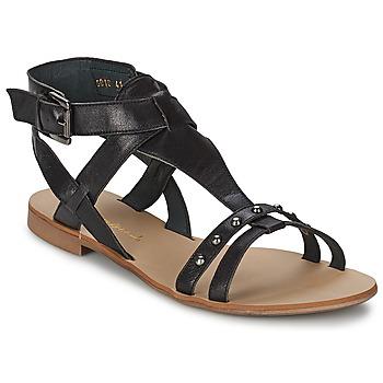 Zapatos Mujer Sandalias Casual Attitude JOSPRO Negro