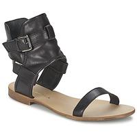 Zapatos Mujer Sandalias Casual Attitude PANTOLA Negro