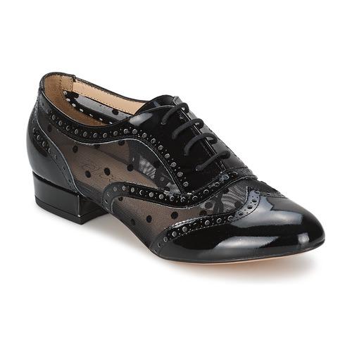 Zapatos casuales salvajes Fericelli ABIAJE Negro - Envío gratis Nueva promoción - Zapatos Richelieu Mujer  Negro