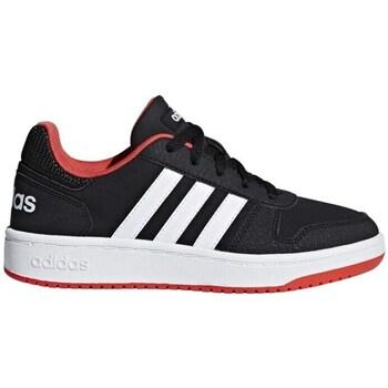 Zapatos Niños Zapatillas bajas adidas Originals Hoops 20 K Negros