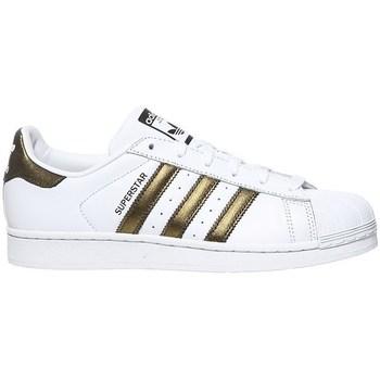 Zapatos Zapatillas bajas adidas Originals Superstar W Blanco