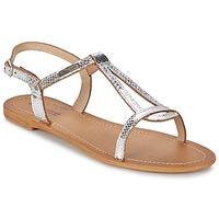 Zapatos Mujer Sandalias Les Tropéziennes par M Belarbi HAMAT Plateado / Serpiente