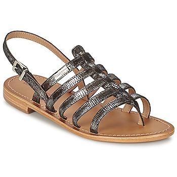 Zapatos Mujer Sandalias Les Tropéziennes par M Belarbi HERCRIS Plateado