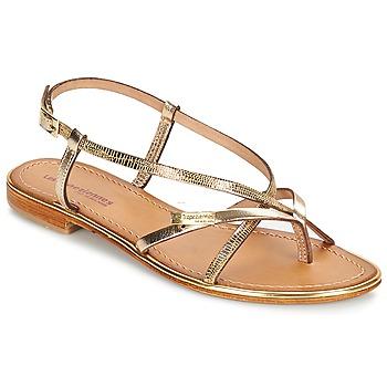 Zapatos Mujer Sandalias Les Tropéziennes par M Belarbi MONACO Dorado / Serpiente