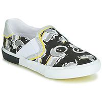 Zapatos Niño Slip on Catimini CAMAZO Blanco / Negro