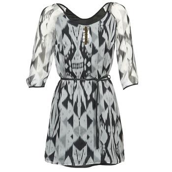 textil Mujer vestidos cortos One Step ROSASITE Gris / Blanco