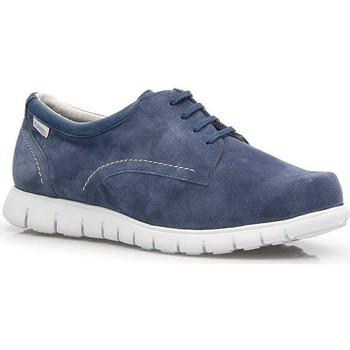 Zapatos Hombre Zapatillas bajas Calzamedi DEPORTIVO DIABÉTICOS M 2146 AZUL