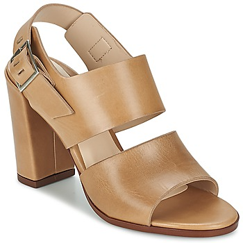 Zapatos Mujer Sandalias Dune London CUPPED BLOCK HEEL SANDAL Beige