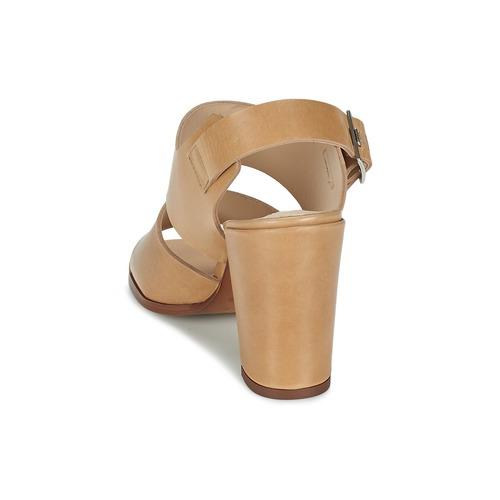 Sandal Zapatos Sandalias Block Beige London Mujer Dune Cupped Heel XZiuPk