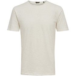 textil Hombre Camisetas manga corta Only & Sons  22005108 Bianco