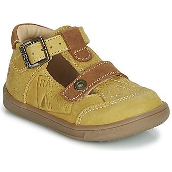 Zapatos Niño Sandalias GBB AREZO Mostaza