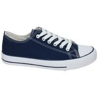 Zapatos Mujer Zapatillas bajas Demax Zapatillas de lona Azul