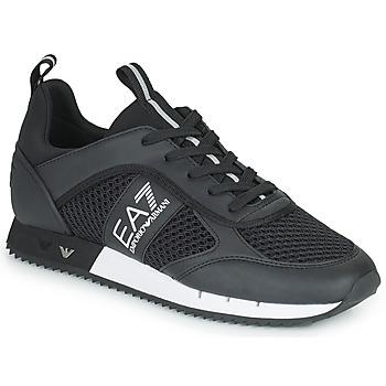 Zapatos Hombre Zapatillas bajas Emporio Armani EA7 LACES U Negro