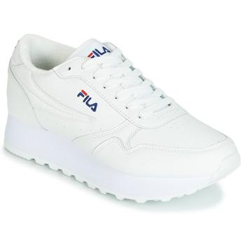 Zapatos Mujer Zapatillas bajas Fila ORBIT ZEPPA L WMN Blanco