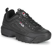 Zapatos Hombre Zapatillas bajas Fila DISRUPTOR LOW Negro