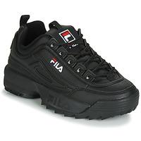 Zapatos Mujer Zapatillas bajas Fila DISRUPTOR LOW WMN Negro