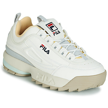 Zapatos Mujer Zapatillas bajas Fila DISRUPTOR CB LOW WMN Blanco / Gris