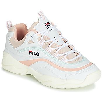 Zapatos Mujer Zapatillas bajas Fila RAY LOW WMN Blanco / Beige