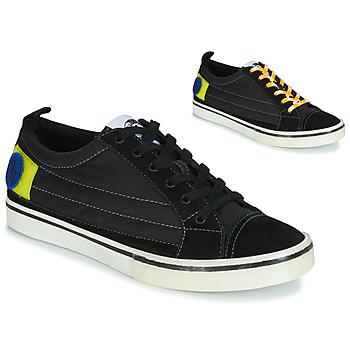 Zapatos Hombre Zapatillas bajas Diesel D-VELOWS LOW PATCH Negro