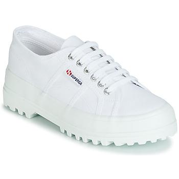 Zapatos Mujer Zapatillas bajas Superga 2555 COTU Blanco