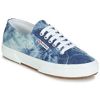Zapatos Zapatillas bajas Superga 2750 TIE DYE DENIM Azul