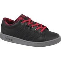Zapatos Mujer Zapatillas bajas K-Swiss Kswiss Hoke Plaid Negro