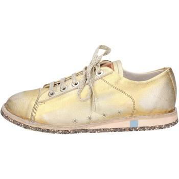 Zapatos Mujer Zapatillas bajas Moma sneakers dorado cuero BT46 dorado