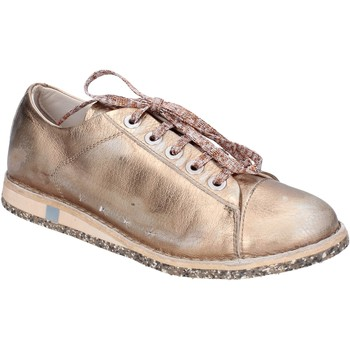 Zapatos Mujer Zapatillas bajas Moma sneakers rosado cuero platino BT48 rosado
