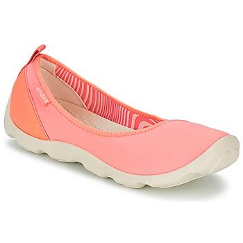Zapatos Mujer Bailarinas-manoletinas Crocs DUET BUSY DAY FLAT Naranja