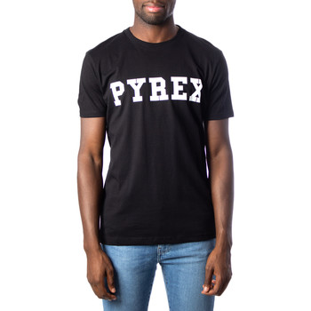 textil Hombre Camisetas manga corta Pyrex 34200 Nero