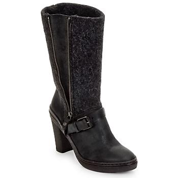 Zapatos Mujer Botas urbanas Buttero MERENS Negro / Gris