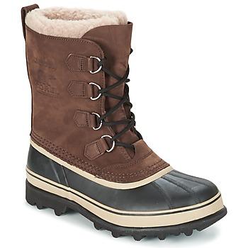 Zapatos Hombre Botas de nieve Sorel CARIBOU Marrón
