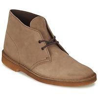 Zapatos Hombre Botas de caña baja Clarks DESERT BOOT Marrón