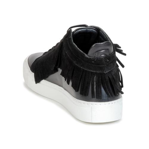 Paula Negro Zapatos Zapatillas Paulamp; Mujer Joe Altas fIbY6gv7ym