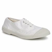 Zapatos Mujer Zapatillas bajas Bensimon TENNIS LACET Blanco