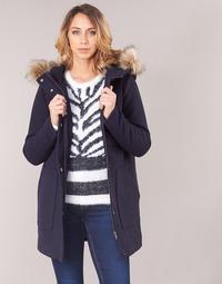 textil Mujer Abrigos Only ONLNOAH Marino