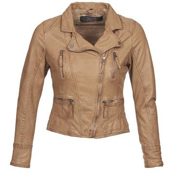 textil Mujer Chaquetas de cuero / Polipiel Oakwood 60862 COGNAC