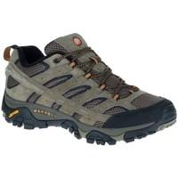 Zapatos Hombre Senderismo Merrell Moab 2 Ventilator Grises