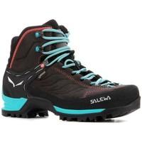 Zapatos Mujer Senderismo Salewa WS MTN Trainer MID GTX 63459 0674 gris