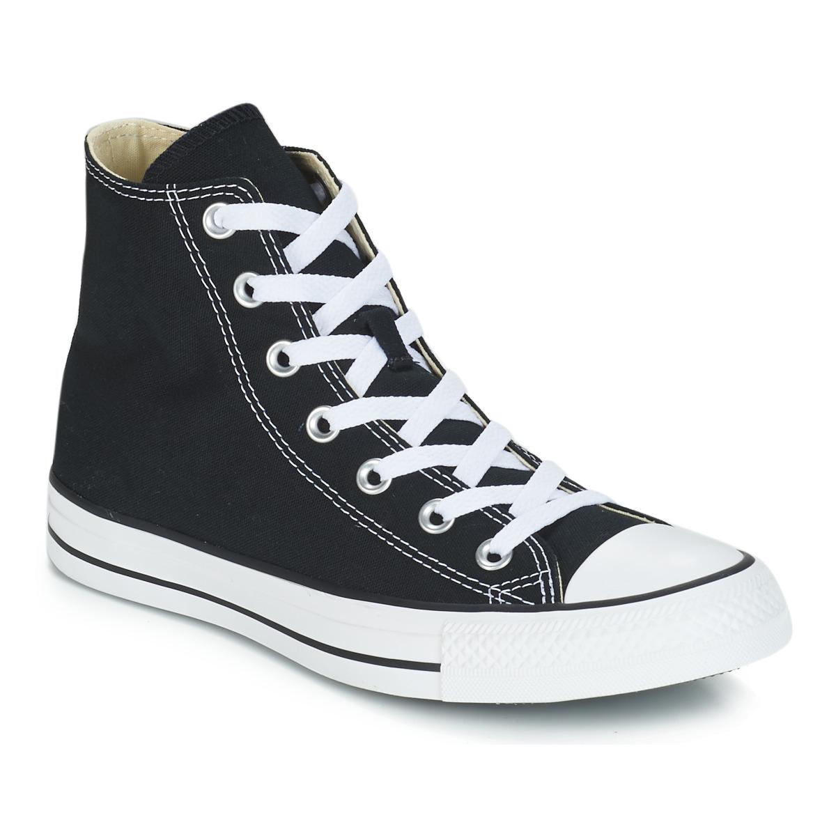 11a87b6aab891 Zapatos Zapatillas altas Converse CHUCK TAYLOR ALL STAR CORE HI Negro