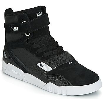 Zapatos Hombre Zapatillas altas Supra BREAKER Negro