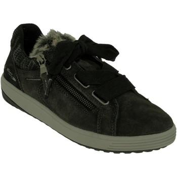 Zapatos Mujer Zapatillas bajas Allrounder by Mephisto Ma bella Terciopelo gris