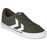 Zapatos Zapatillas bajas Hummel NILE CANVAS LOW Kaki