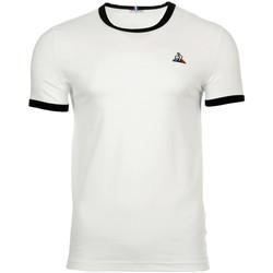 textil Hombre camisetas manga corta Le Coq Sportif Ess Tee SS N°4 M Blanco