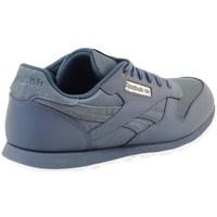 Zapatos Niños Zapatillas bajas Reebok Sport Classic Leather Deep Grises