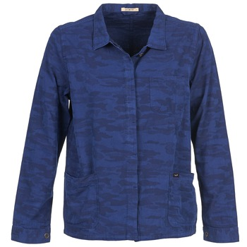 textil Mujer Chaquetas / Americana Lee CAMO Azul
