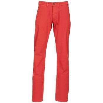 textil Hombre pantalones chinos Jack & Jones BOLTON DEAN ORIGINALS Rojo